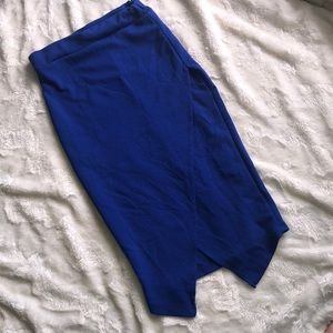 Blue sirens skirt size large
